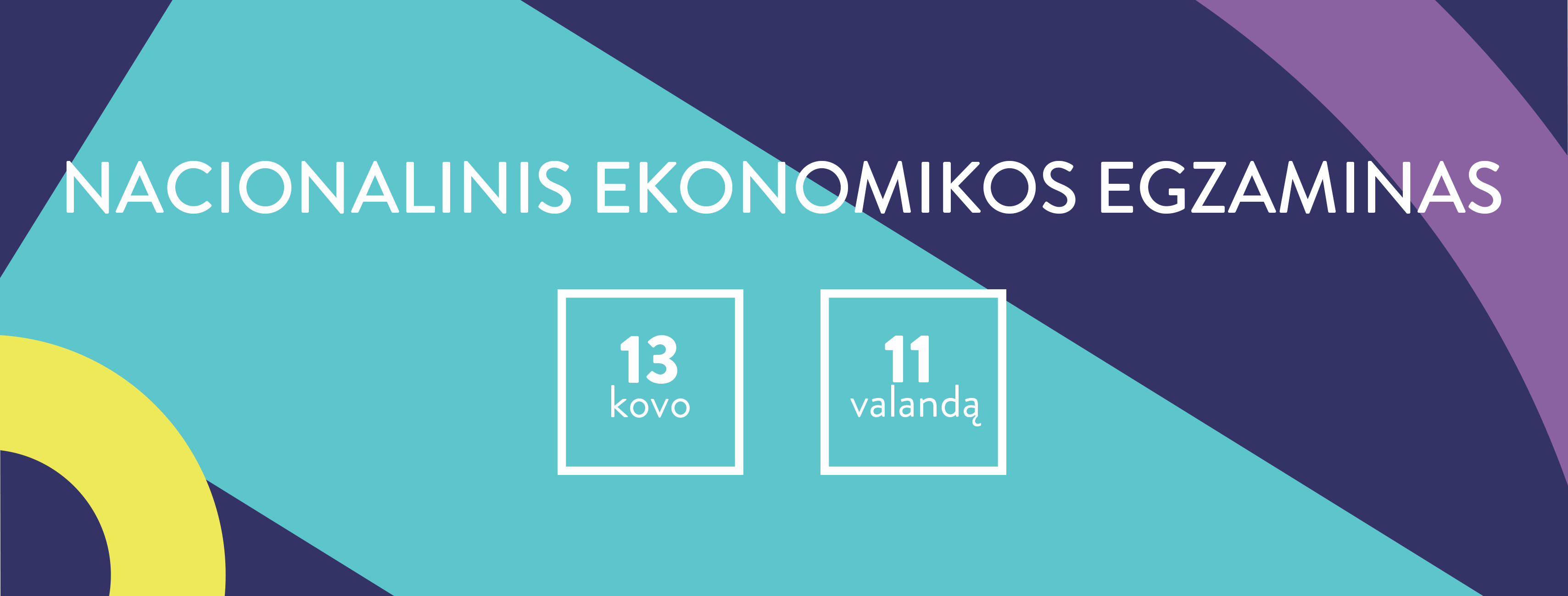 ekonomikos egzaminas