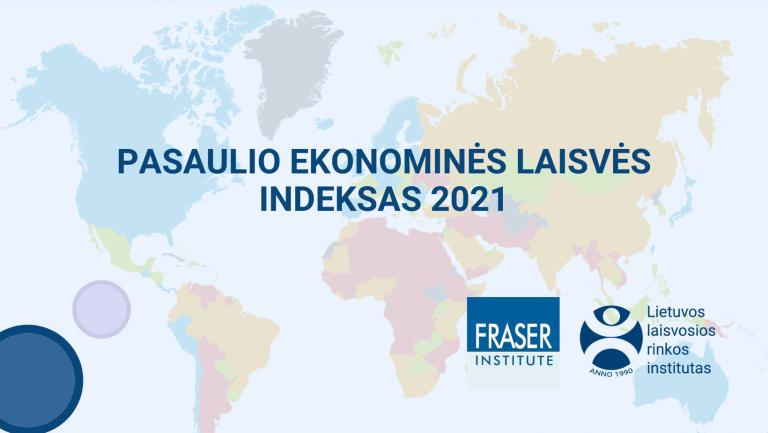 Pasaulio ekonominės laisvės indeksas 2021